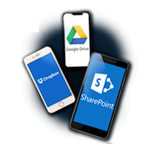 Sharepoint vs Dropbox vs Google Drive
